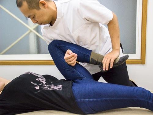 関節の可動性をあげるタイマッサージ